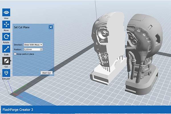 Flashforge Creator 3 3D Printer Review 12