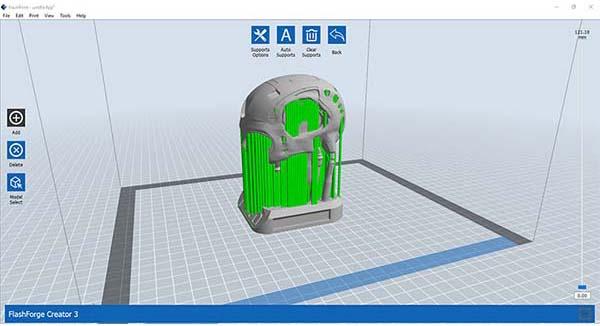 Flashforge Creator 3 3D Printer Review 14