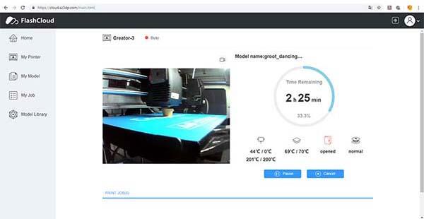Flashforge Creator 3 3D Printer Review 18