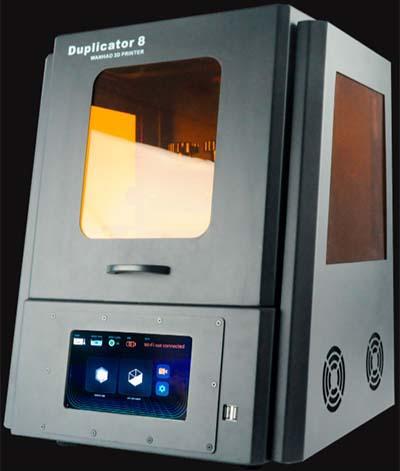 Wanhao Duplicator 8 Resin 3D Printer Review 1