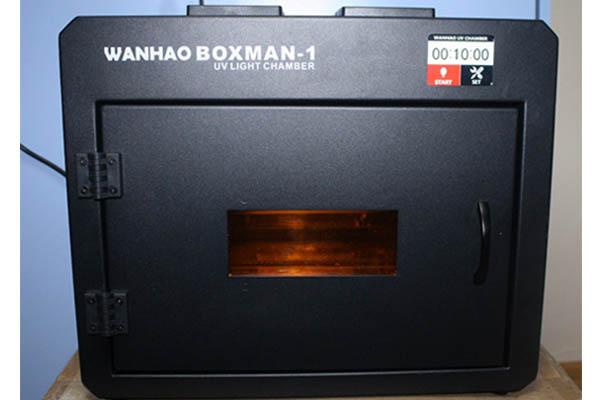 Wanhao Boxman-1 Curing Box Review 2
