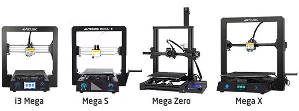 Anycubic Mega S vs Mega X vs Mega Zero: What is the Difference? 1