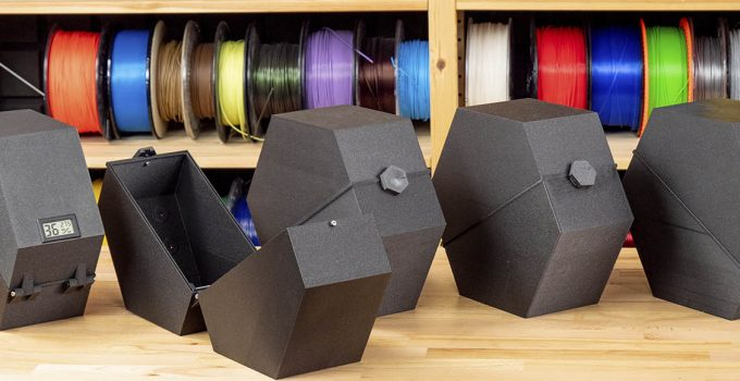 How to Store 3D Printer Filament