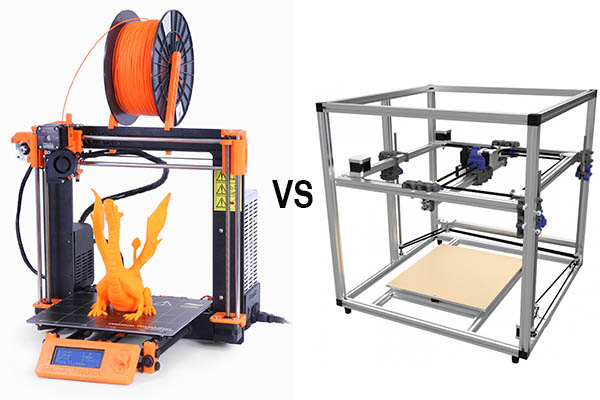 i3 style 3d printer vs corexy 3d printer